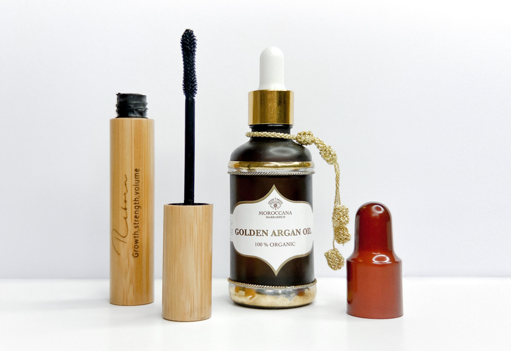 Reborn Mascara Eyelashes morocanna Golden argan oil
